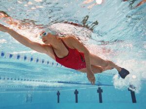 Gearing up to start swimming